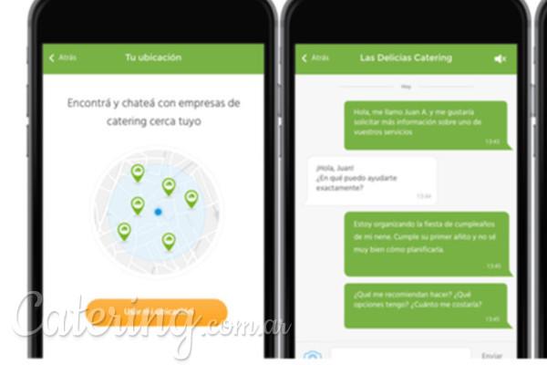 Encontrá tu proveedor más rápido con la nueva app de Catering.com.ar